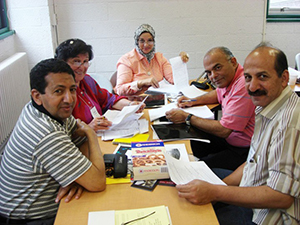 Egyptian educators in Comprehensive School Reform Models program