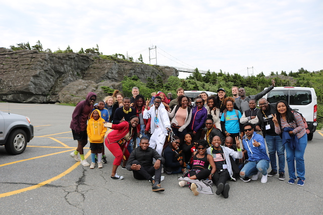 Group at Grandfather Mountain