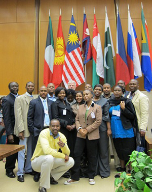 Participants in Legislative Fellows Program (LFP) for South Africans