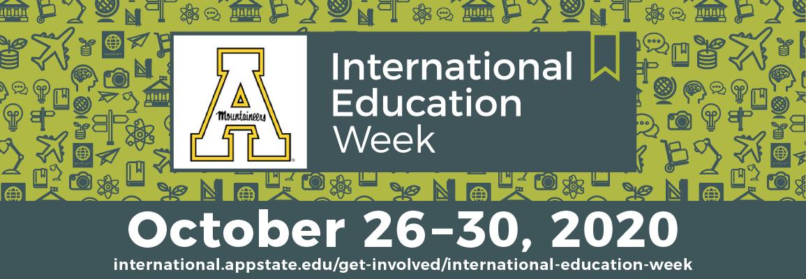 International Education Week 2020 - October 26 to 30