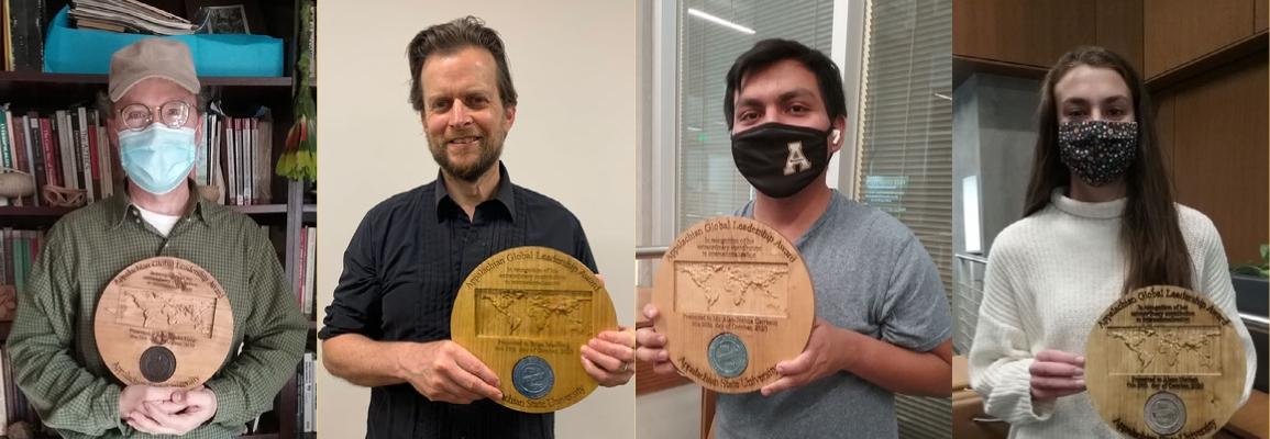 Award winners for 2020 global symposium