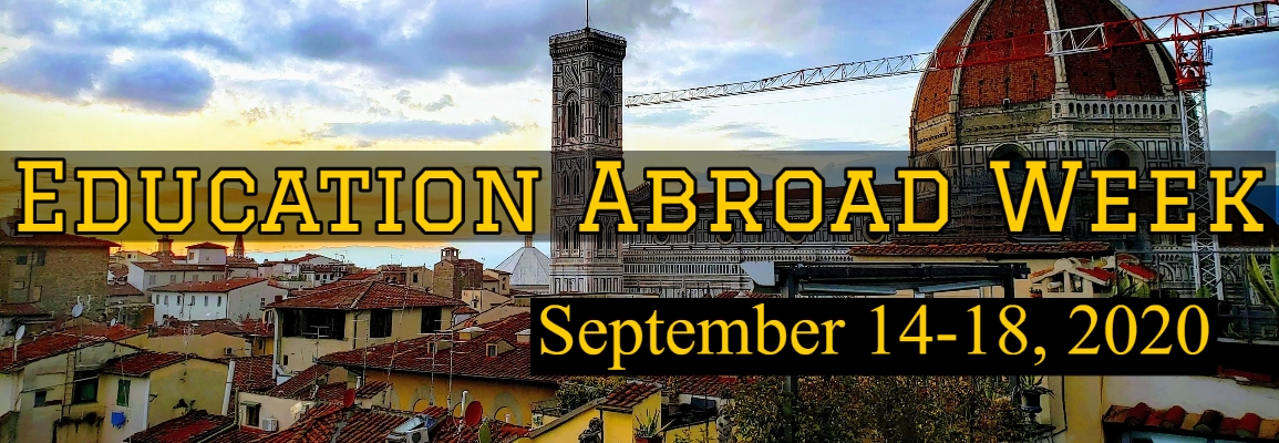 Education Abroad Week - Sept 14 to 18
