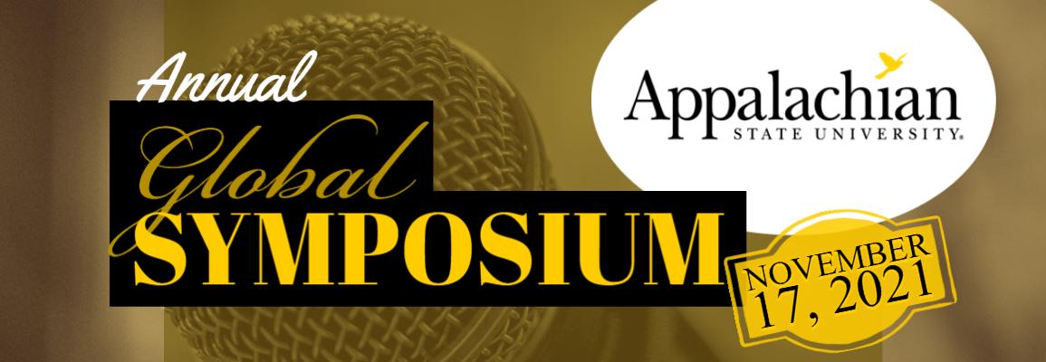 Annual Global Symposium at Appalachian State University - November 17, 2021