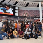 Group at the NASCAR Museum