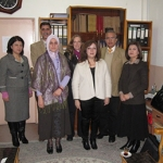 Participants in Curriculum Development Project, a partnership between Appalachian State University and the Kurdistan Ministry of Higher Education and Scientific Research
