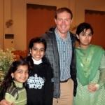 Pakistani School Exchange Program participant and students