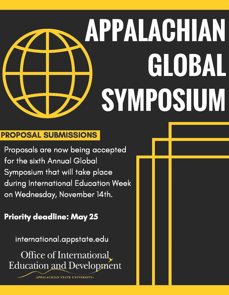 Global Symposium Flyer