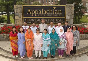 Fulbright Pakinstani Students 2007