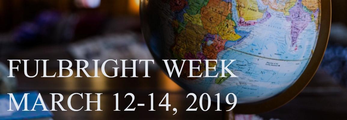 Fulbright Week 2019