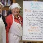 TEA program participants volunteering at FARM Cafe