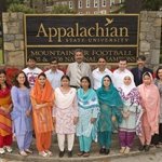 Pakistani secondary-level biology teachers in 2007 Fulbright exchange program at Appalachian State
