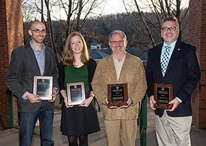 2012 Appalachian Global Leadership Awards recipients